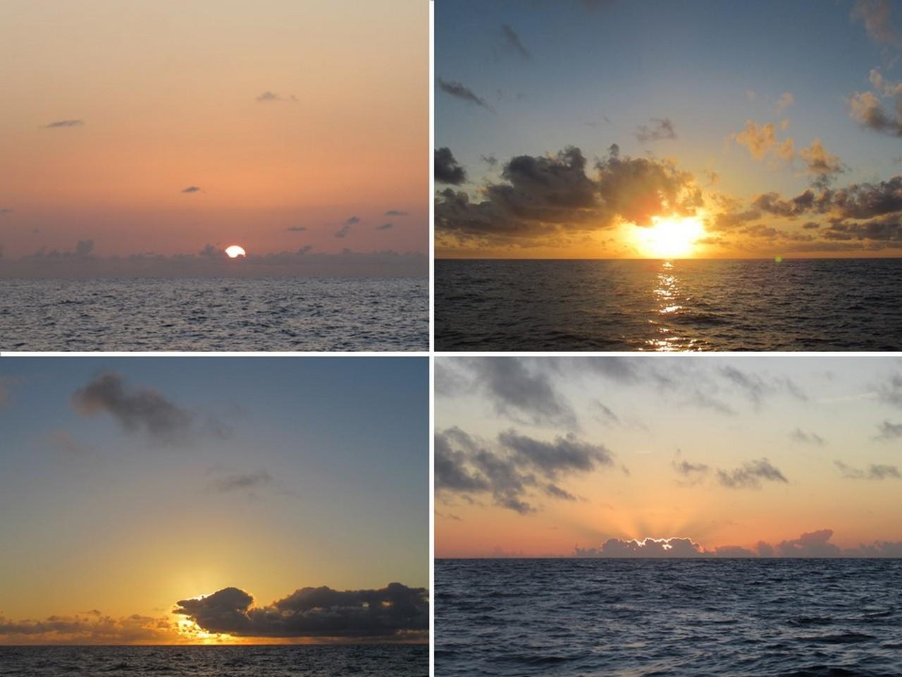 Sunset after sunset.