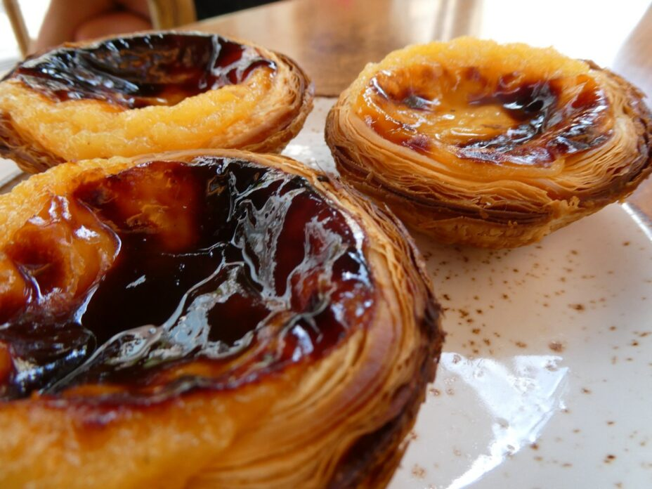 Pastel De Nata for 3. Clare is here.