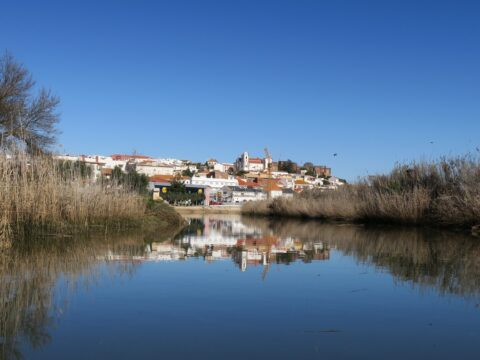 Silves emerges on the big dinghy safari.